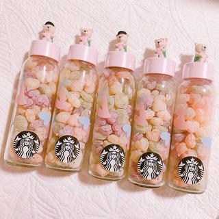スターバックスコーヒー(Starbucks Coffee)のスターバックス スタバ クマ ベア 韓国 キャンディボトル ベアリスタ スタバ(容器)