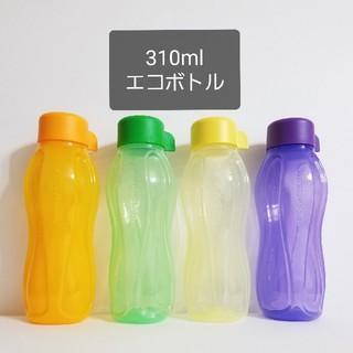 新品 タッパーウェア 310ml エコボトル 4本セット(容器)