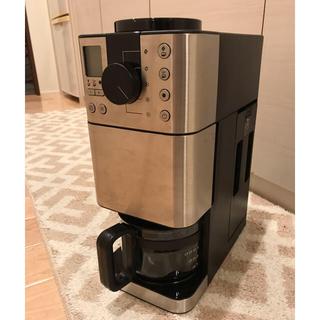ムジルシリョウヒン(MUJI (無印良品))の無印良品 使用回数1回☆豆から挽けるコーヒーメーカー(コーヒーメーカー)