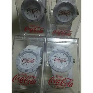 コカコーラ(コカ・コーラ)の【未使用】コカ・コーラ 腕時計セット(腕時計)