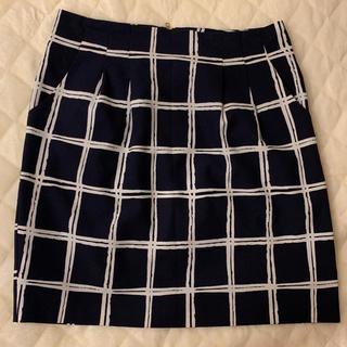アンナルナ(ANNA LUNA)の【格安】ANNA LUNA♡チェック柄膝上タイトスカート(ひざ丈スカート)