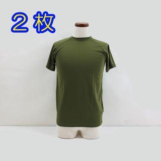 新品 2枚 自衛隊 OD Tシャツ(その他)