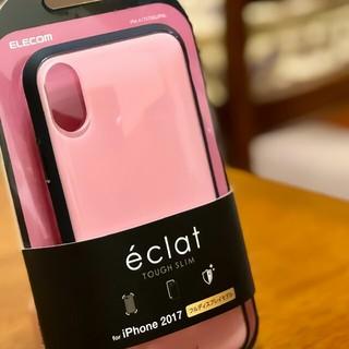 エレコム(ELECOM)のiPhone Ⅹ/ⅩS TOUGH SLIM 耐衝撃ケース エクラ ECRAT(iPhoneケース)