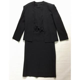 ブラックフォーマル アンサンブル ゆったり9号(礼服/喪服)