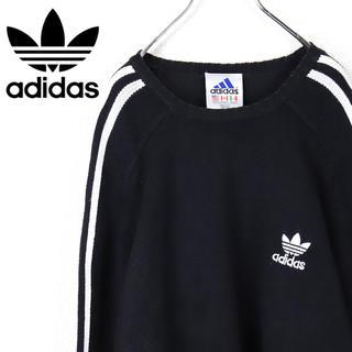 アディダス(adidas)の古着 90s アディダス ニット(ニット/セーター)