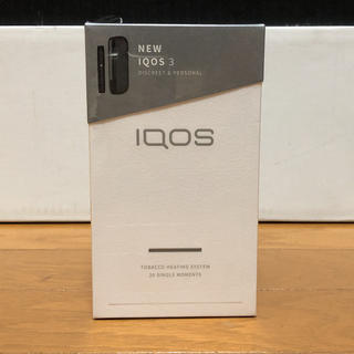 アイコス(IQOS)のiQOS3 ベルベットグレー(タバコグッズ)