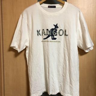カンゴール(KANGOL)のKANGOL半袖 白Tシャツ ロゴ グラフィック Tシャツ (Tシャツ(半袖/袖なし))