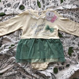 ニシキベビー(Nishiki Baby)の新品未使用タグ付き♡sweetgirlロンパース(ロンパース)