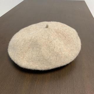 アングリッド(Ungrid)のベレー帽 Ungrid アングリッド ベージュ(ハンチング/ベレー帽)