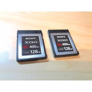 ソニー(SONY)のSONY XQDカード 128GB 2枚セット QD-G128(その他)