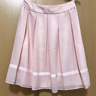 エニィファム(anyFAM)のフレアスカート ピンク anyFAM(ひざ丈スカート)