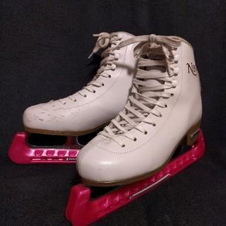 フィギュアスケート靴 24センチ 初心者向き(スポーツ)