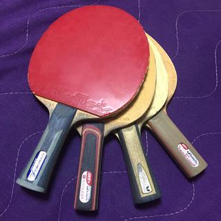 バタフライ(BUTTERFLY)のbutterfly 卓球ラケット 4本(卓球)