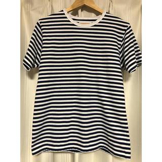 ナナミカ(nanamica)のナナミカ クールマックスボーダー Tシャツsサイズ(Tシャツ/カットソー(半袖/袖なし))