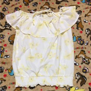 コルザ(COLZA)のお花柄オフショルトップス(シャツ/ブラウス(半袖/袖なし))