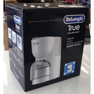 デロンギ(DeLonghi)の【新品・未使用】デロンギ トゥルー ドリップコーヒーメーカー(コーヒーメーカー)