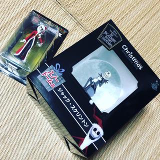 Disney - Xmas ハッピーくじ ジャックスケルトンセット ナイトメア スノードーム