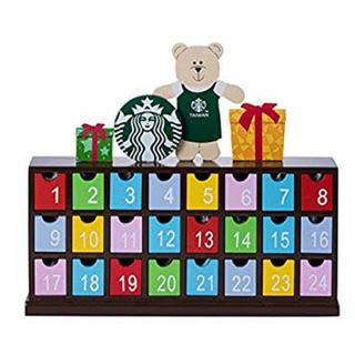 スターバックスコーヒー(Starbucks Coffee)のアドベントカレンダー スターバックス 海外 台湾 ベアリスタ  クリスマス (カレンダー/スケジュール)