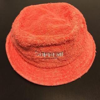 シュプリーム(Supreme)のSupreme Terry Crusher 桃 Coral(ハット)