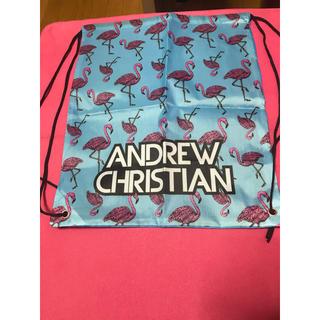 アンドリュークリスチャン(Andrew Christian)のandrew christian フラミンゴ ナップザック(リュック/バックパック)