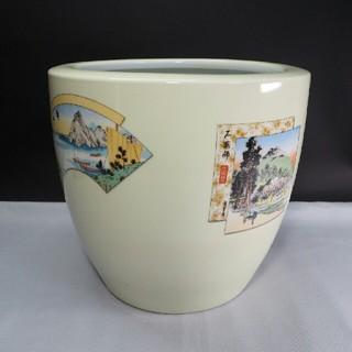 戦前 1932〜43年 ノリタケ 火鉢 手あぶり 昭和レトロ 則武 日本陶器
