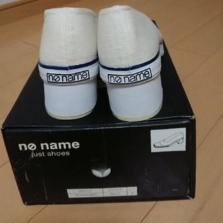 ノーネーム(No Name)のNO name  キャンパス生地 ヒールスニーカー(スニーカー)