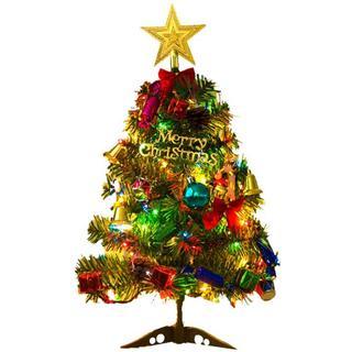 送料無料!クリスマスツリー 50cm 卓上 ミニツリー(置物)