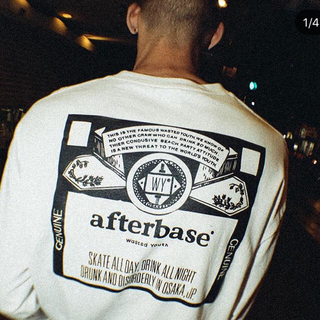 AFTERBASE - afterbase   ロンT L size