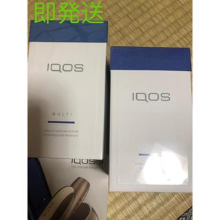 アイコス(IQOS)の新型 NEW iQOS3キット+ multi セット (タバコグッズ)
