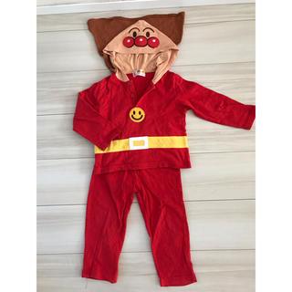 アンパンマン(アンパンマン)のアンパンマン  なりきりパジャマ  95cm  中古(パジャマ)
