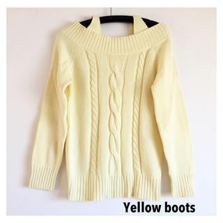 イエローブーツ(Yellow boots)の【送料込】Yellow boots イエローブーツ ニットセーター(ニット/セーター)
