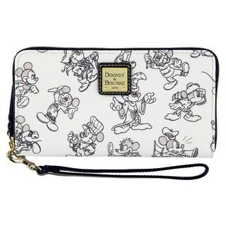ディズニー(Disney)のミッキーマウス 90周年記念 dooney&bourke 財布(財布)