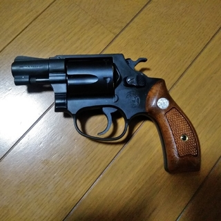 SMITH&WESSON 38 S&W SPLリボルバー(モデルガン)