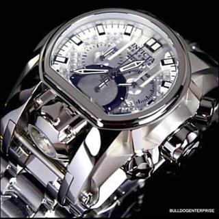 インビクタ(INVICTA)のInvicta 正規品 MAGNUM シルバー&ホワイト定価36万(腕時計(アナログ))