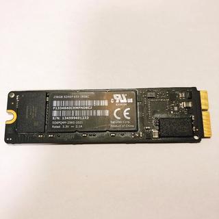 サンディスク(SanDisk)の【Apple純正256GB SSD】2013〜2017年Mac用(ノートPC)