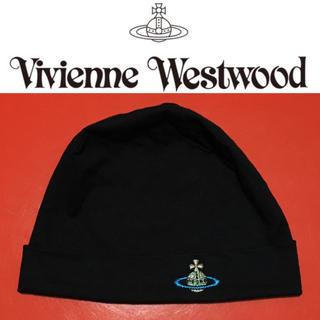 ヴィヴィアンウエストウッド(Vivienne Westwood)のVivienne Westwood MAN ビーニー ヴィヴィアン キャップ(ニット帽/ビーニー)