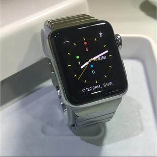 アップルウォッチ(Apple Watch)のApple Watch series3 ステンレス GPS+セルラー(その他)