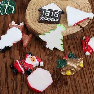 クリスマス 飾り ♡樹脂パーツ 装飾パーツxmas オーナメント(置物)
