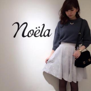 ノエラ(Noela)のNoelaのフロッキー花柄スカート(ひざ丈スカート)