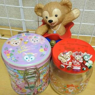ダッフィー(ダッフィー)のダッフィー&フレンズ☆瓶 缶 キャンディポット(キャラクターグッズ)