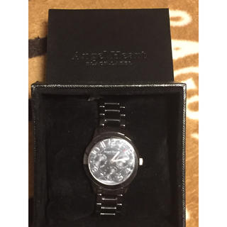 エンジェルハート(Angel Heart)のエンジェルハート 時計 ブラック(腕時計)