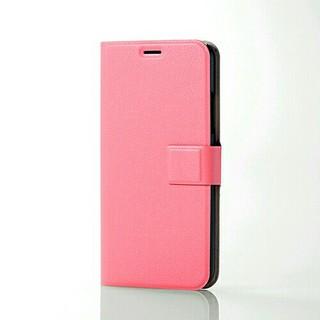 エレコム(ELECOM)のiPhone Ⅹ/ⅩS用ソフトレザーカバーマグネット付スナップ(iPhoneケース)