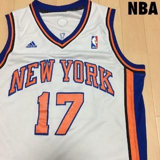 アディダス(adidas)の#3868 NBA KNICKS ニックス ユニフォーム ゲームシャツ(タンクトップ)