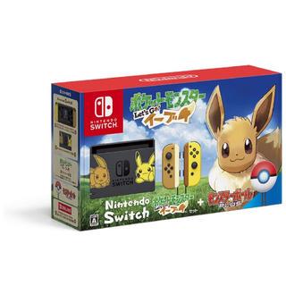 ニンテンドースイッチ(Nintendo Switch)の新品未開封 ポケットモンスター Let's Go! イーブイセット (家庭用ゲーム本体)