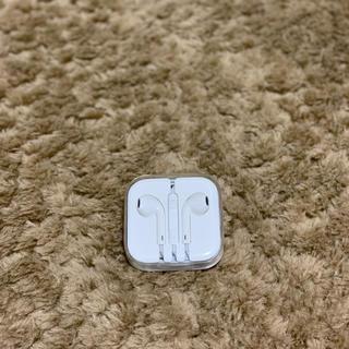アップル(Apple)の新品未使用品 純正 Apple iPhone付属イヤフォン イヤホンジャック(ヘッドフォン/イヤフォン)