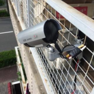 事件を未然に防ぐ! 監視カメラ風 ダミーカメラ(防犯カメラ)