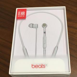 アップル(Apple)のbeats X イヤフォン(ヘッドフォン/イヤフォン)