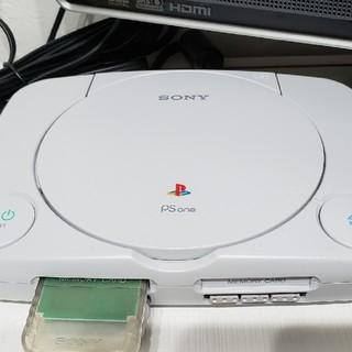 プレイステーション(PlayStation)のプレステーションOne本体(家庭用ゲーム本体)