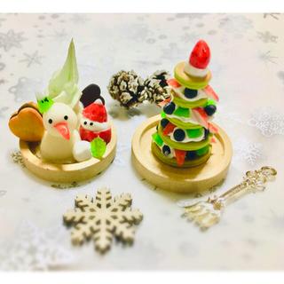 ミニチュアクリスマススイーツセット(ミニチュア)