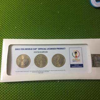 2002ワールドカップ記念500円(記念品/関連グッズ)
